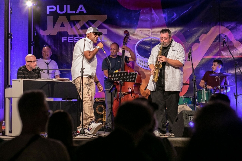 The traditional Pula Jazz Festival Jam Session!